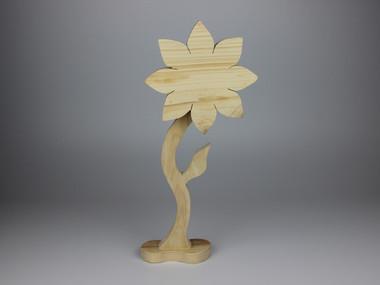 FLOR figura creativas de madera