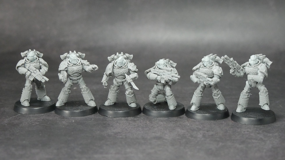 Alpha Omega Hydra Warriors Table Top Space Soldiers Proxy