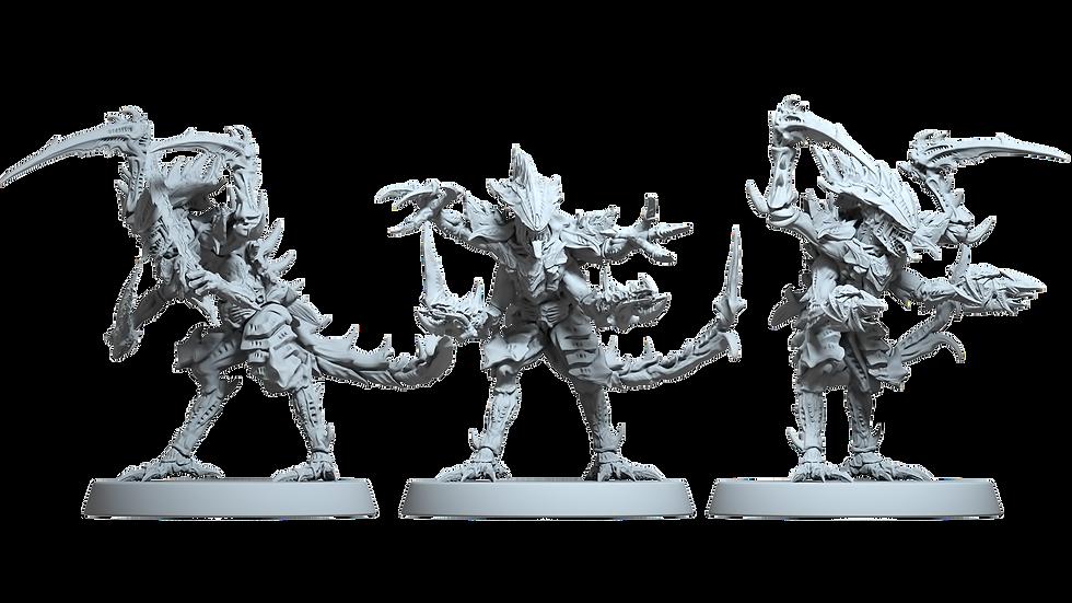 Alien Fleet Diablo - Bio-Warriors Brood (One set of 9) with discounts applied!