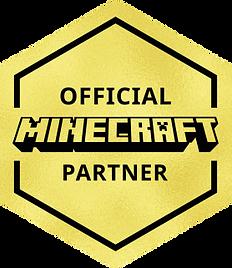 Official Minecraft Partner Badge Medium.