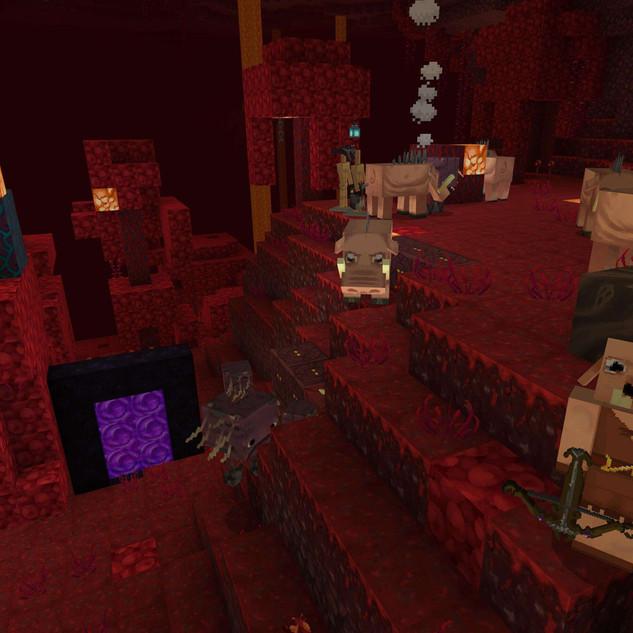 Colour Fantasy in Minecraft Nether Updates