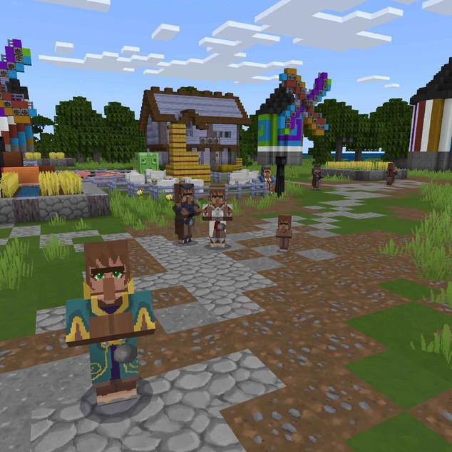 Colour Fantasy Village