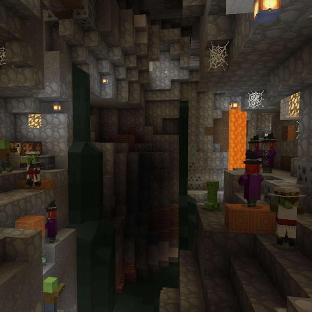 Colour Fantasy Cave