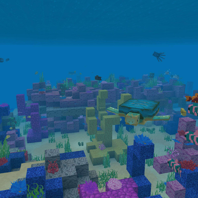 Colour Fantasy Ocean