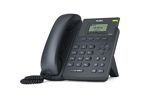 Telefone Yealink Ip 1 Linha Sip-t19p E2 Preto
