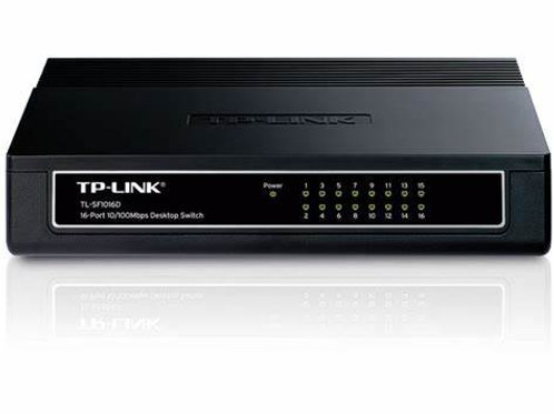 Switch Tp-link Tl-sf1016d 16 Port 10/100mbps