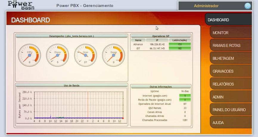 Interface WEB Pegasus