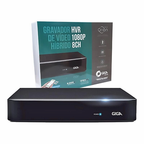 Hvr 1080p Serie Orion 8 Canais Giga Gs0181