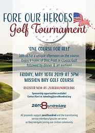 Fore Our Heroes Golf Tournament