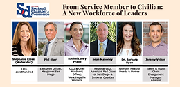 From Service Member to Civilian: A New Workforce of Leaders - Hosted by SD Regional Chamber of Commerce