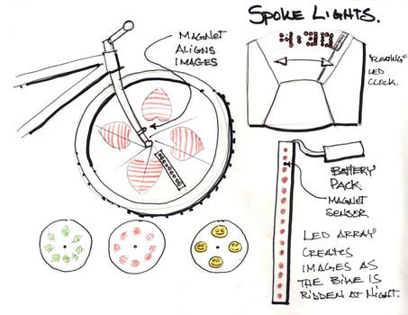 Monkey Lights Sketch