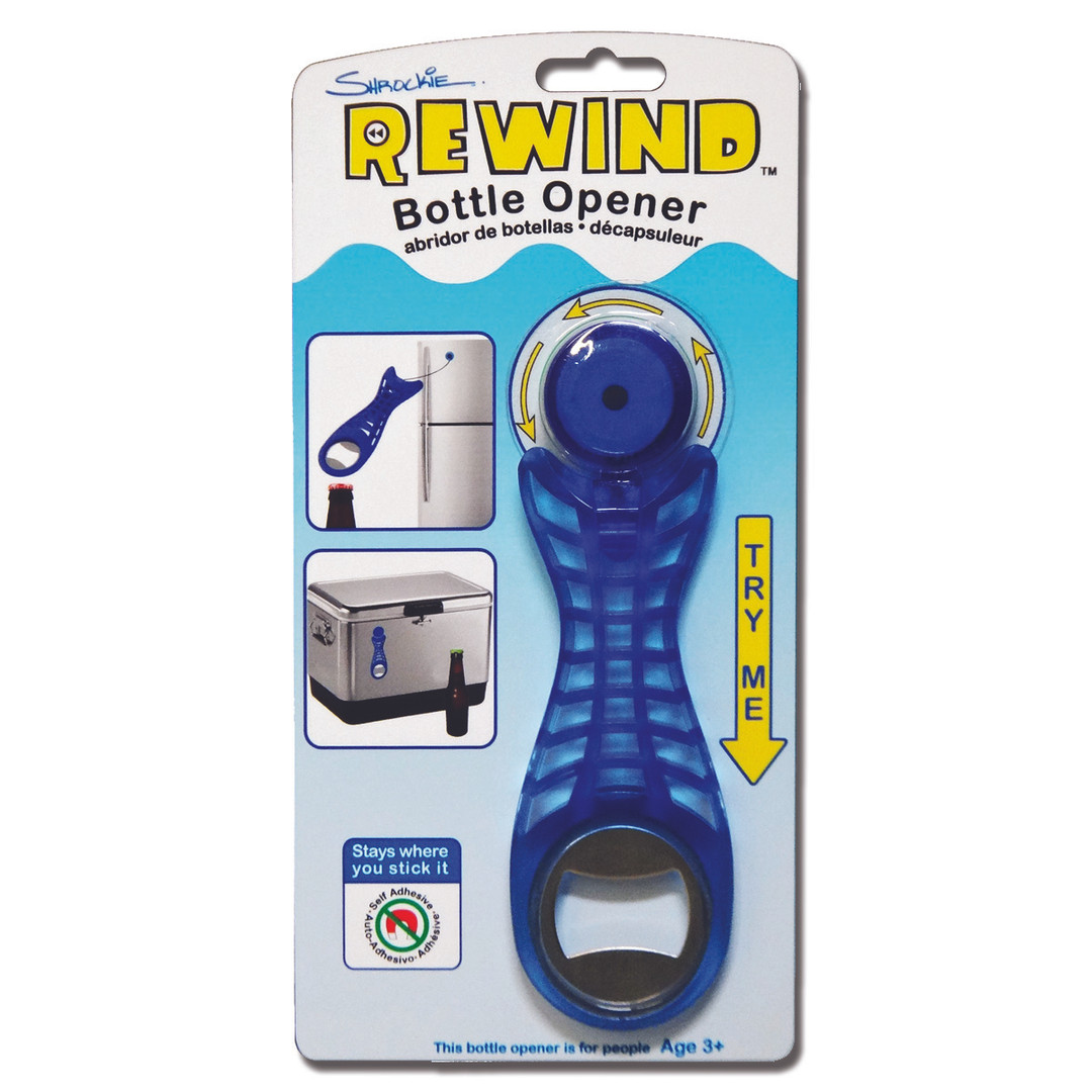 Rewind Bottle Opener
