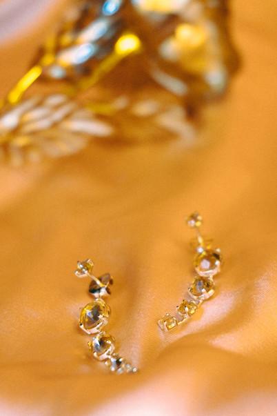 Citrine Jacket Earrings
