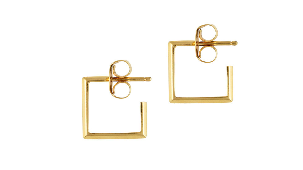 Square Pipe Earrings
