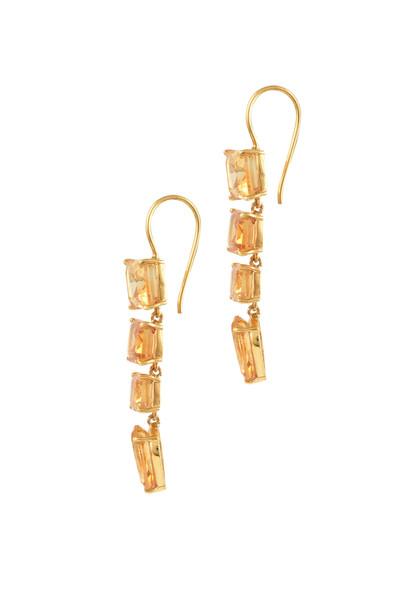 Citrine Hook Earrings