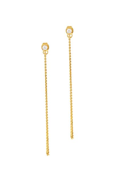 Diamond Jacket Earrings