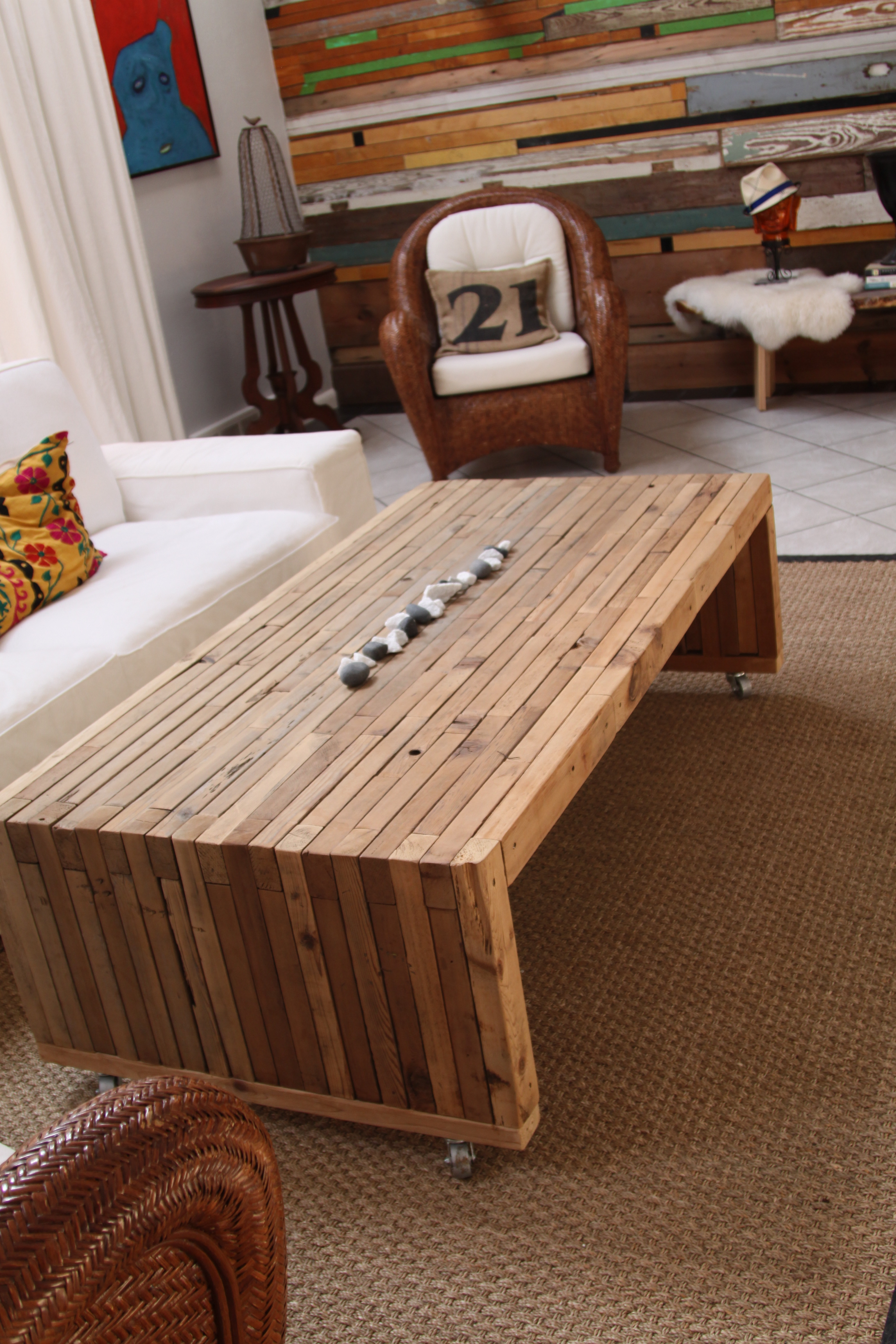 Doghouse coffee table