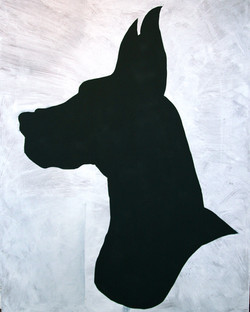 Brutus silhouette, 4 ft