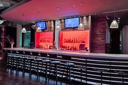 NYLO hotel bar walls, Dallas, TX