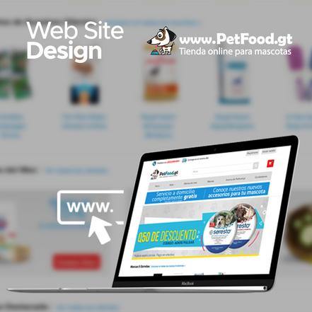 Desarrollo de la tienda online para www.PetFood.gt
