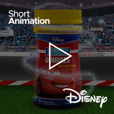 Animaciones Cortas para Disney Gummies Guatemala