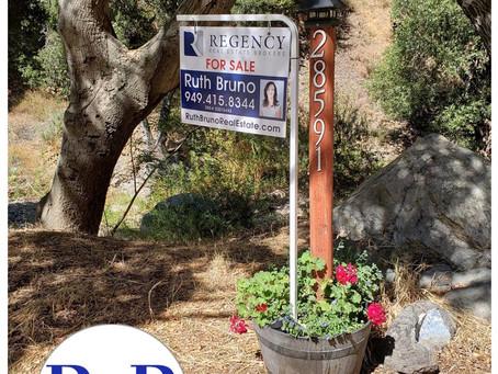Sold: Silverado Canyon