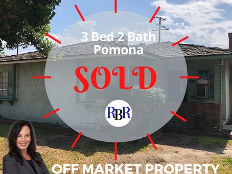 Sold: Pomona
