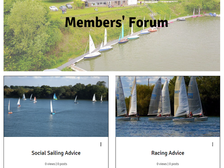 NEW! Members' Forum Launched