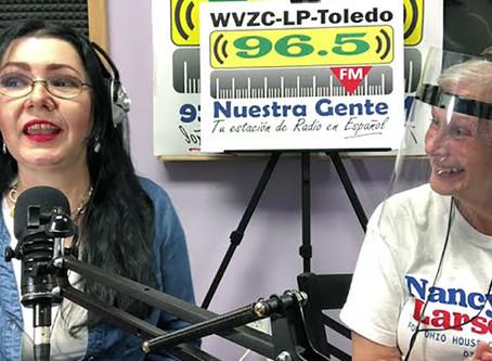Nuestra Gente Radio Show: Linda Parra interviews Nancy