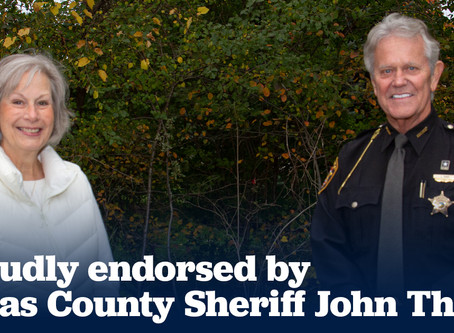 Lucas County Sheriff John Tharp endorses Nancy Larson for Ohio House District 47
