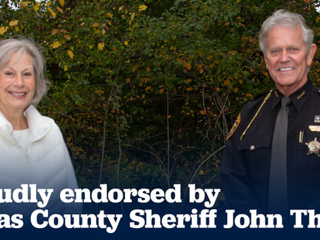 Lucas County Sheriff John Tharp endorses Nancy Larson for Ohio House District 47