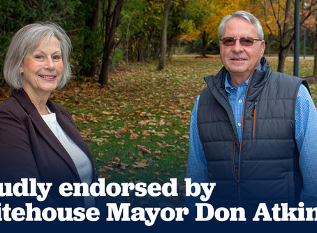 Whitehouse Mayor Don Atkinson endorses Nancy Larson for Ohio House District 47