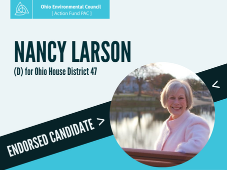 Ohio Environmental Council Action Fund PAC endorses Nancy Larson