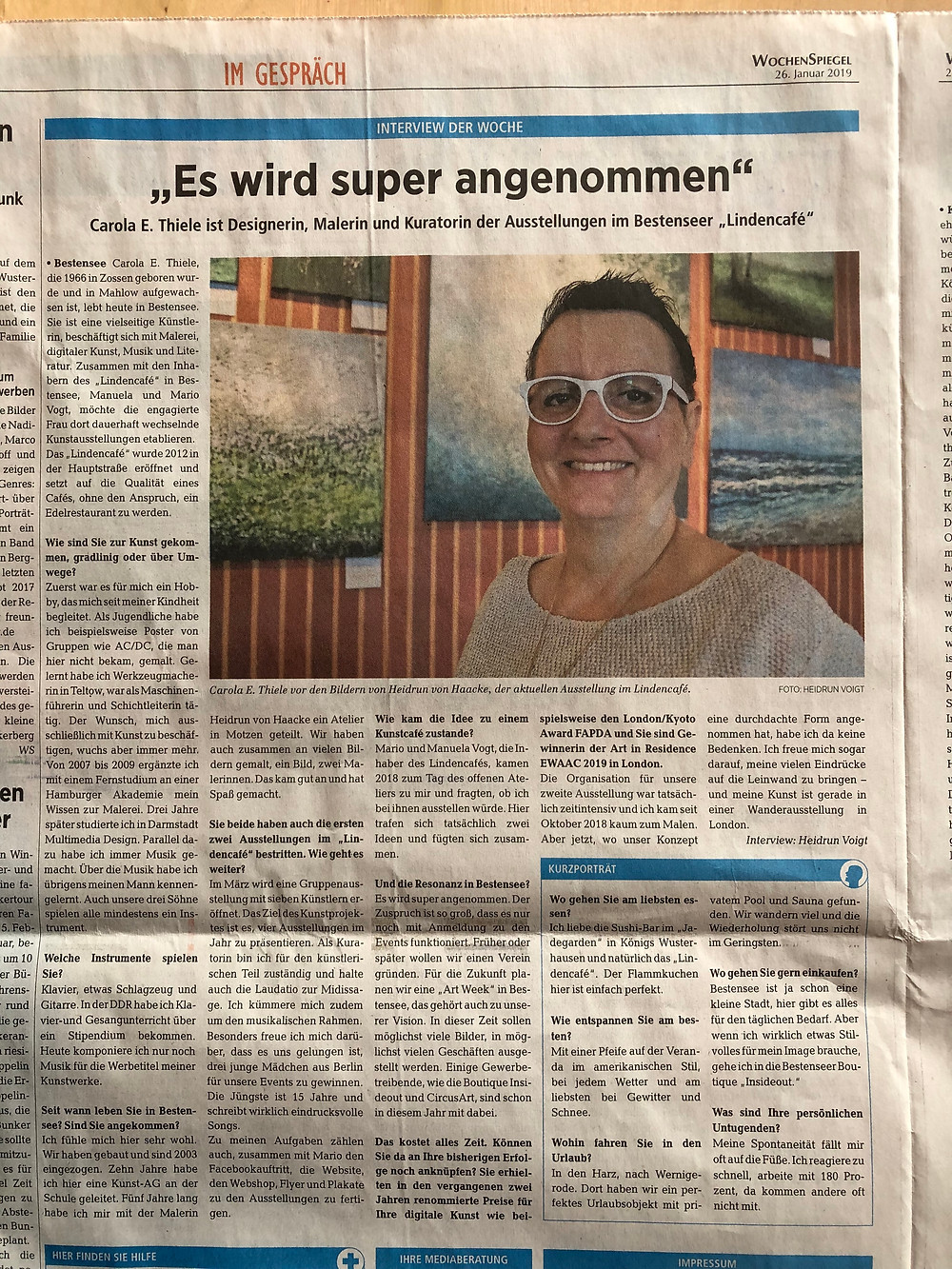 Heidrun Voigt Interview