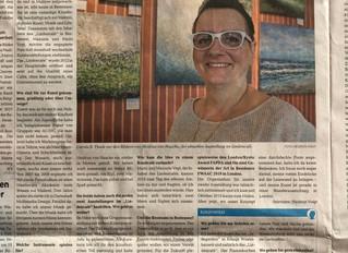 Ein Interview im Wochenspiegel...