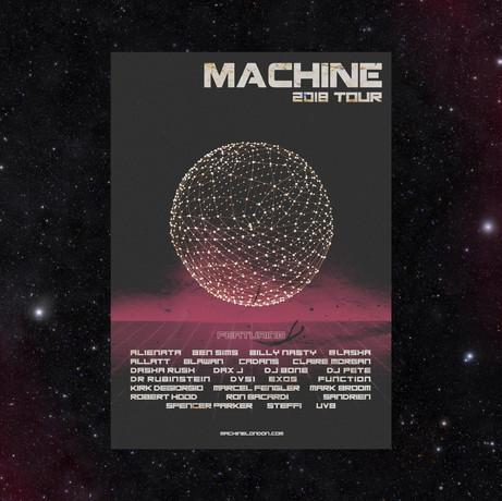 Machine Tour Flyer