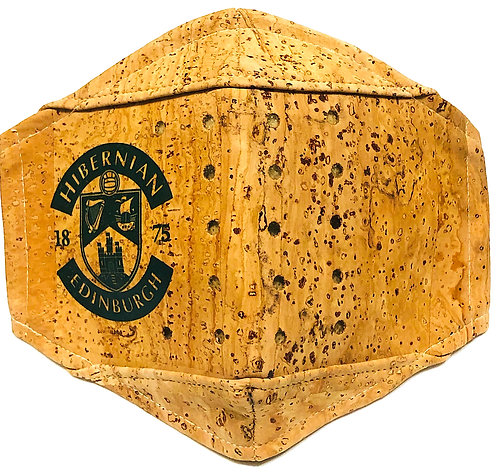 Hibernian F.C. Facial Cork Mask