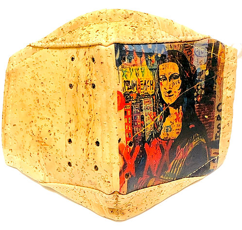 Mona Lisa Facial Cork Mask