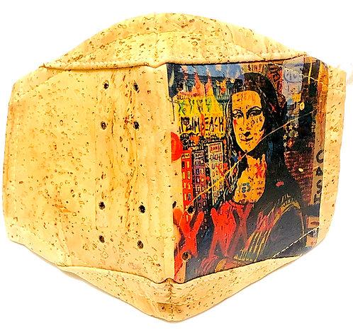 Mona Lisa Facial Cork Mask
