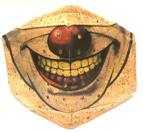 Clown Facial Cork Mask