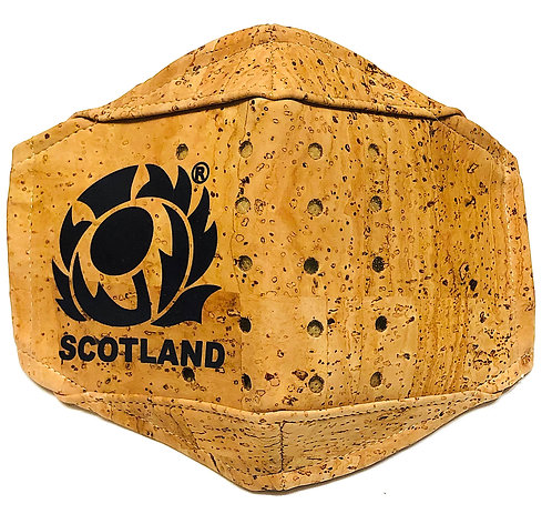 Scottish Rugby Team Facial Cork Mask