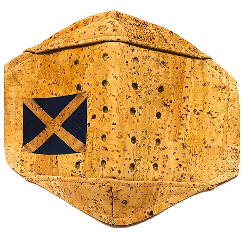 Saltire Facial Cork Mask