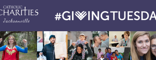Catholic Charities Celebrates #GivingTuesday and Pledges to Transform the Lives of Others.