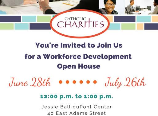 Program Highlight: Workforce Development Open House