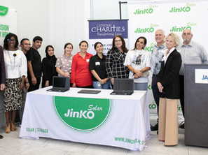 Gifts from JinkoSolar Help Our ESOL Refugee Students Shine
