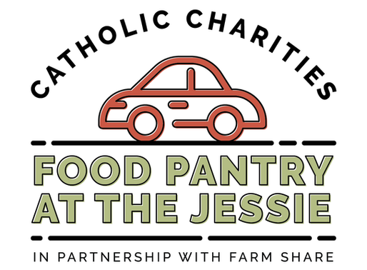 Catholic Charities Opens A Pop-Up Food Pantry at The Jessie