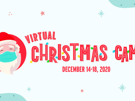 Save the Date for Virtual Christmas Camp
