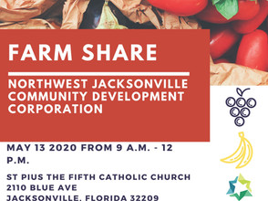 Catholic Charities Food Pantry is Closed Tomorrow, May 13 In Support of The NWJCDC Food Distribution