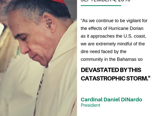 President of U.S. Bishops Conference Calls for Prayers After Deadly Hurricane Hits the Bahamas