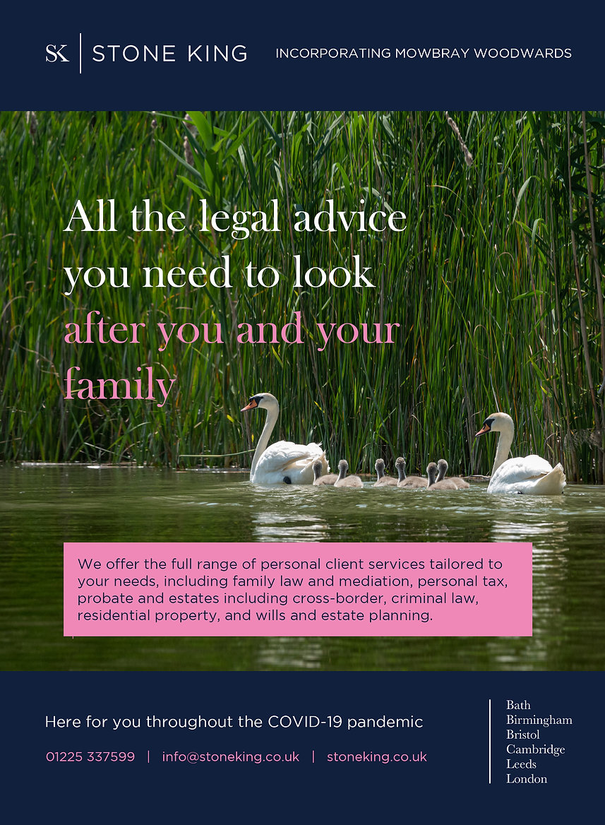 InBath - Digital magazine advert July 20